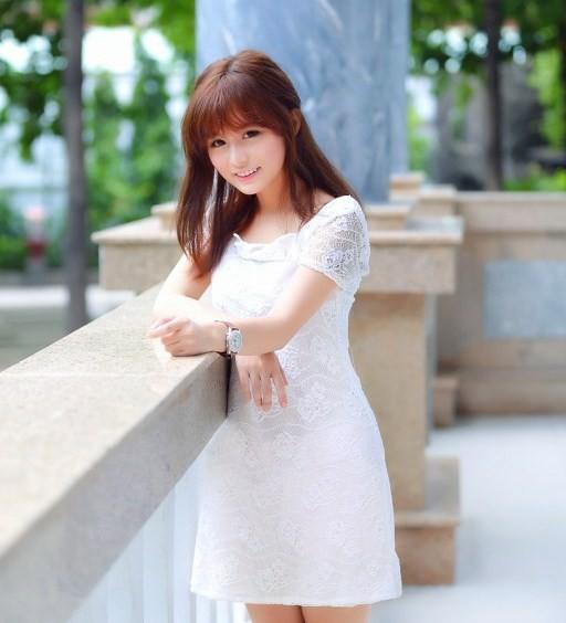 Hình ảnh gái xinh chất áo trắng đẹp