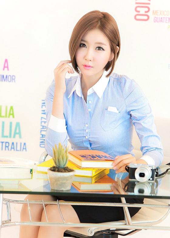 Hình ảnh hot girl Hàn Quốc cute  nhất