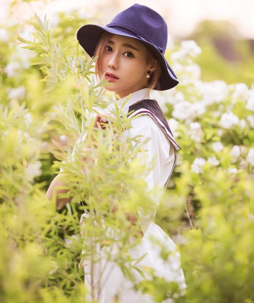 Hình ảnh hot girl Hàn Quốc kute nhất