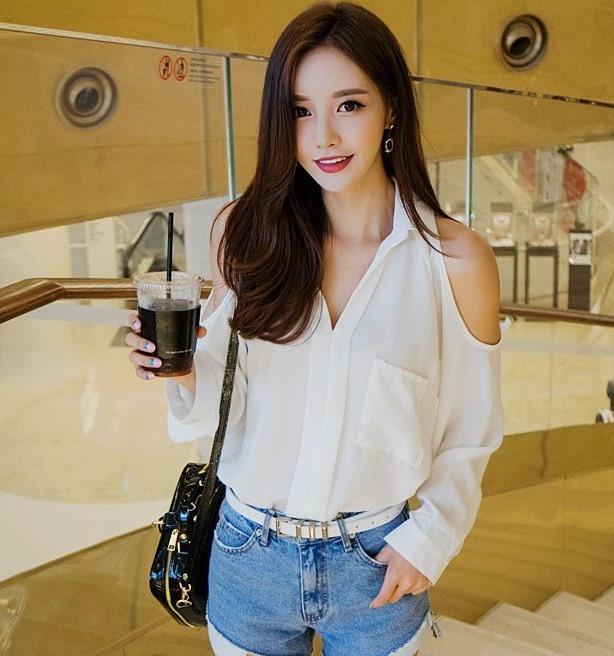Hình ảnh hot girl Hàn Quốc dễ thương nhất