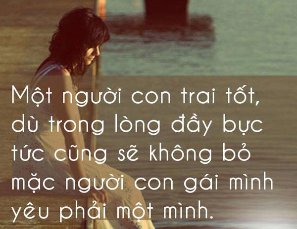 Câu nói chia tay người yêu đầy cảm động, buồn tận đáy lòng