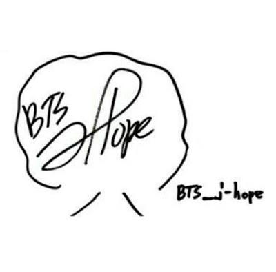 Chữ ký của J-Hope – Jung Hoseok