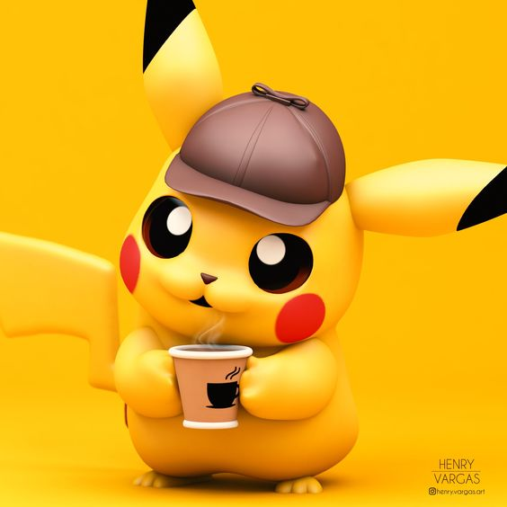 hinh nen Pikachu Cute 1