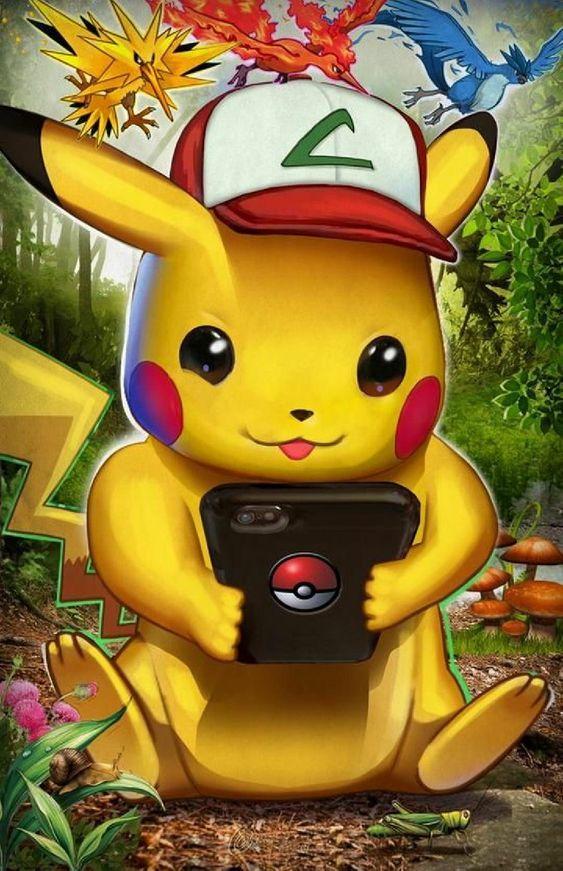 hinh nen Pikachu dep 12