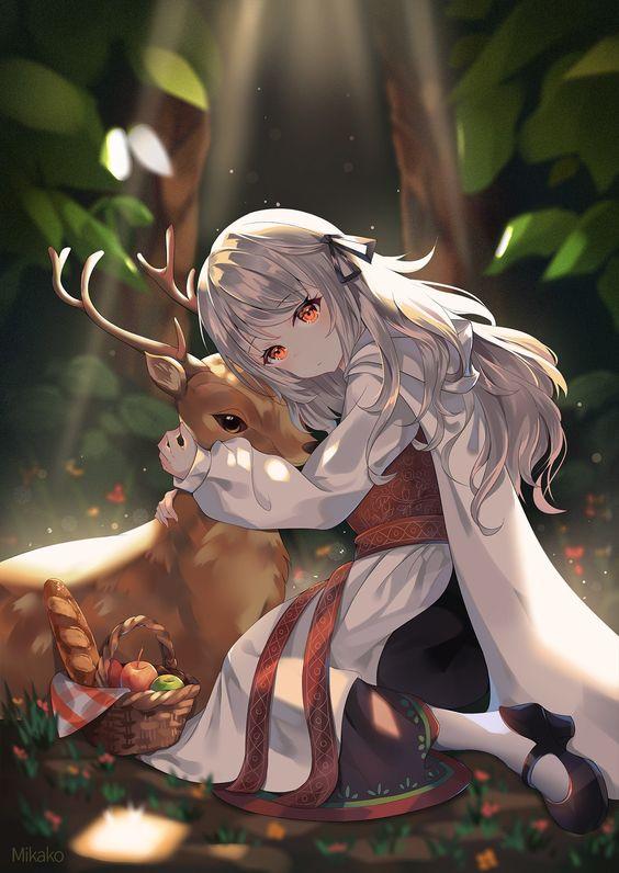 Hình ảnh Anime Nữ đáng yêu