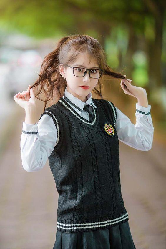 Hình ảnh Hot girl xinh đeo đẹp và dễ thương