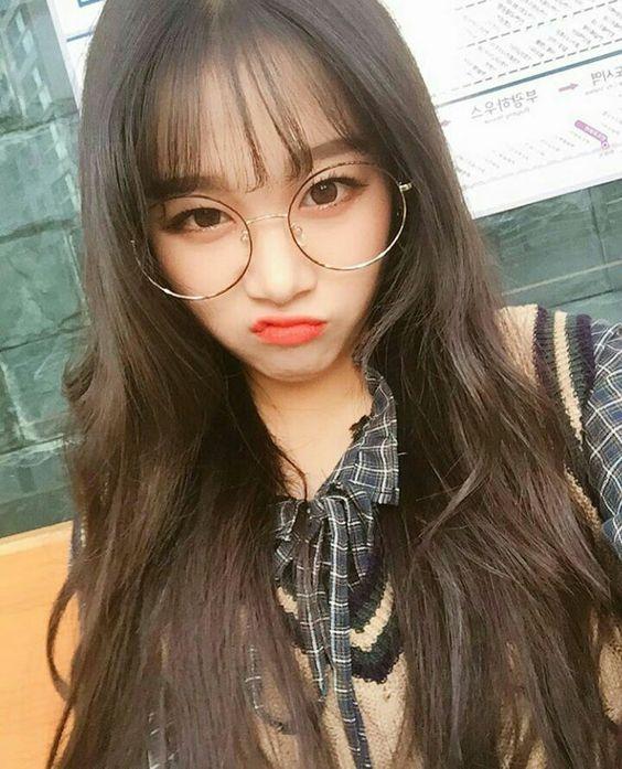Hình ảnh gái xinh đeo kính siêu siêu cute