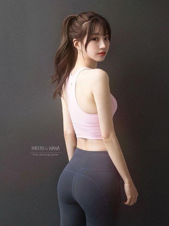 gai xinh tap gym 33