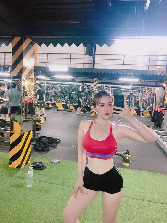 gai xinh tap gym 34