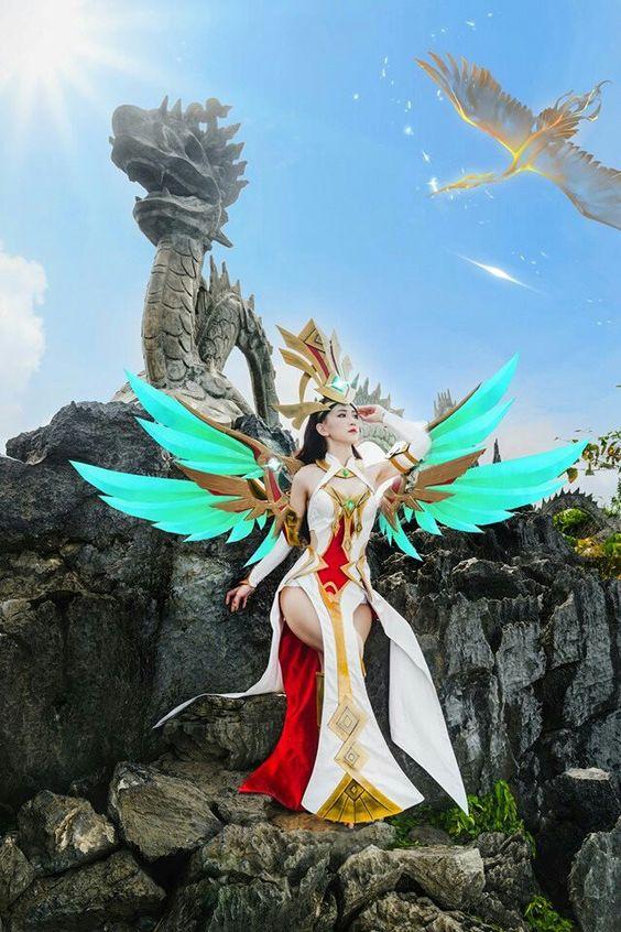 Hình ảnh Gái Xinh Cosplay Liên Quân Mobile