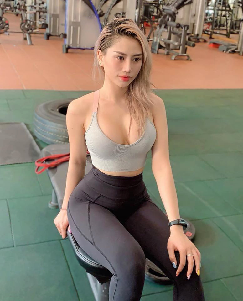 hinh anh gai xinh tap gym 3