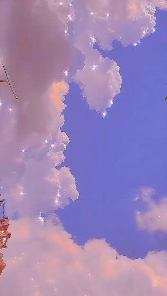 Hình nền điện thoại đám mây đẹp