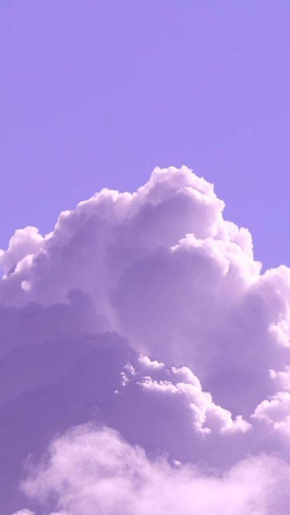 Hình nền điện thoại mây hồng