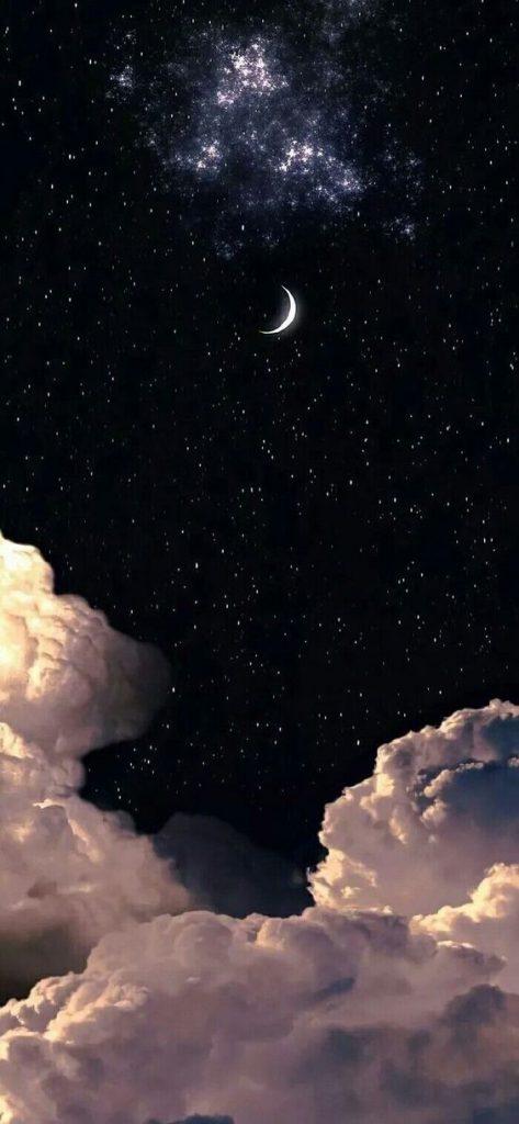 Hình nền điện thoại bầu trời đêm đẹp