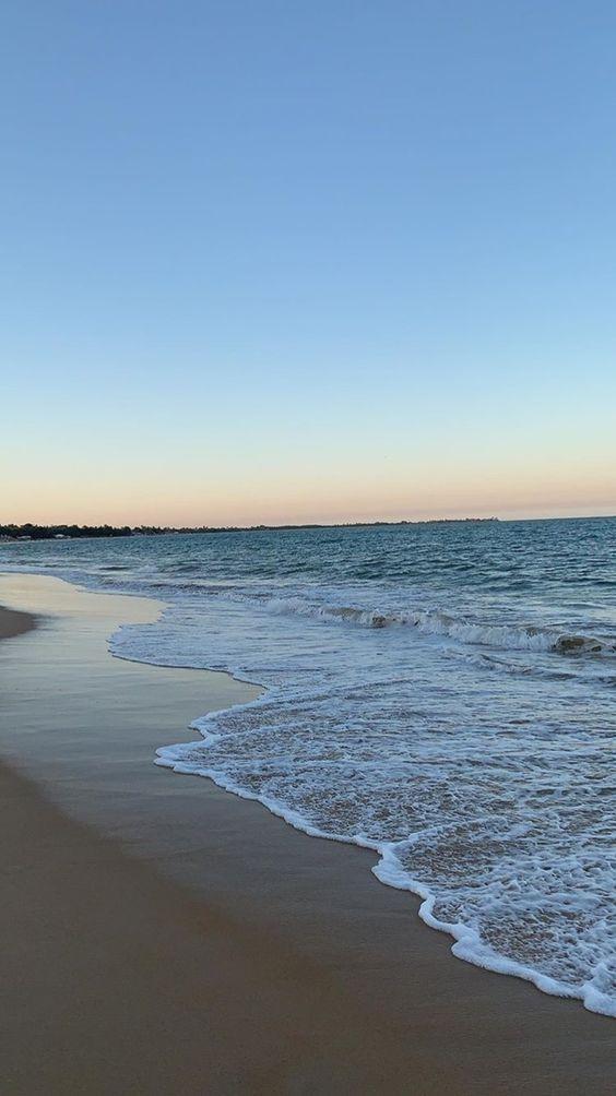 Hình nền điện thoại cảnh biển bình minh đẹp