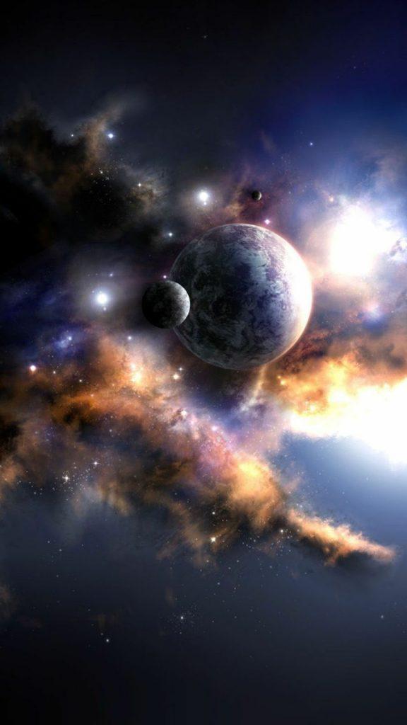 Hình nền điện thoại các hành tinh đẹp và chất ngầu