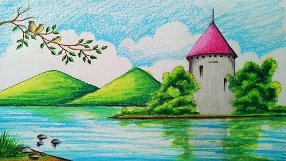 Tranh vẽ phong cảnh lớp 3