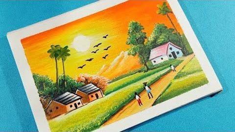 Tranh vẽ phong cảnh lớp 5